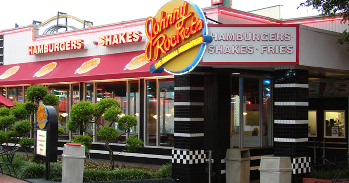 Free Johnny Rockets Burger for Joining & On Your Birthday
