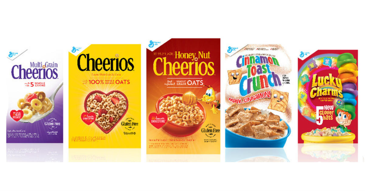 General Mills Cereal Only $1.49 at CVS