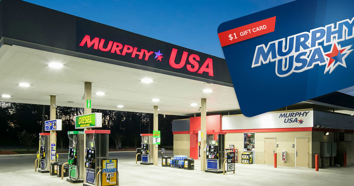 Free $1 Credit Murphy Gas Station Class Action Settlement