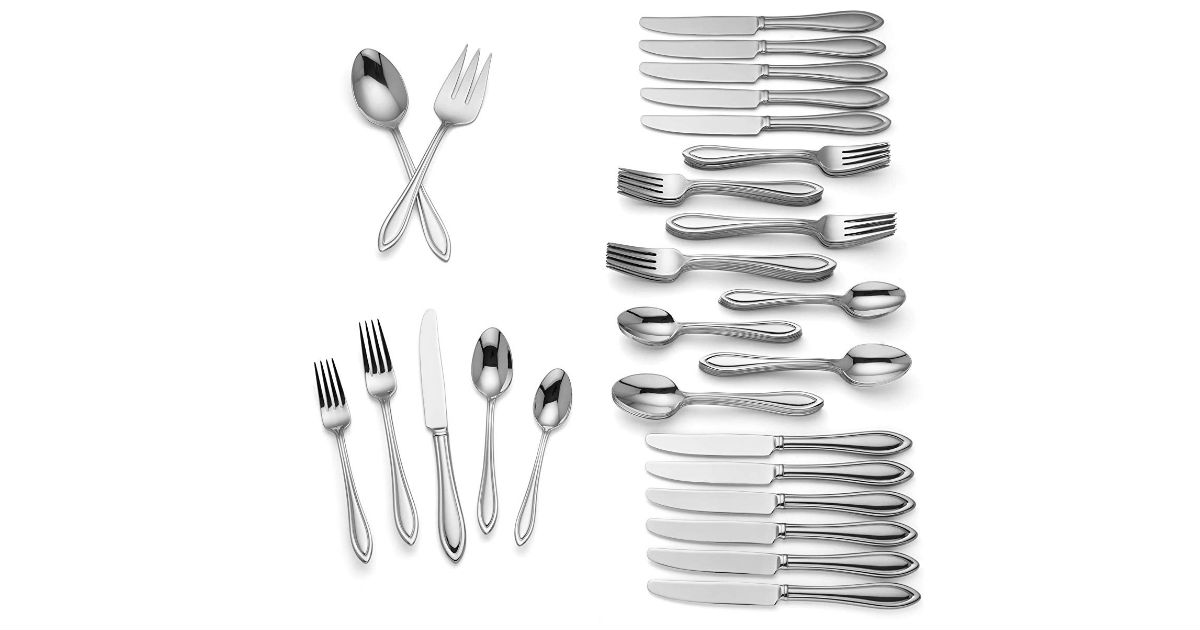 Lenox Medford 62-Piece Flatware Set ONLY $89.99 (Reg. $221)
