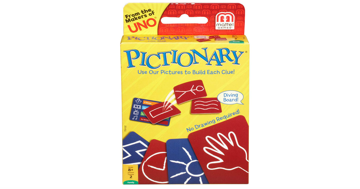 Mattel Pictionary Card Game ONLY $5.50 (Reg. $10)