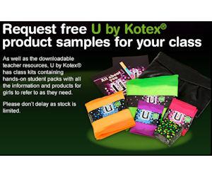 Teachers - Get Free U by Kotex Classroom Kits - Free Product Samples