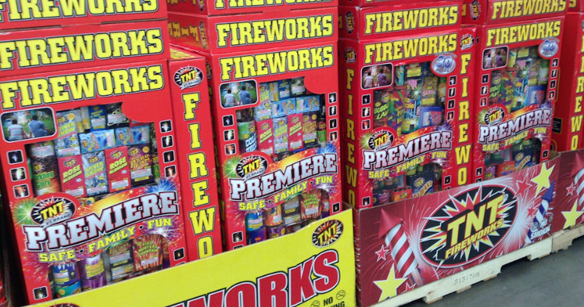 Free TNT Fireworks Poster, Stickers, Magnets, Tattoos & More