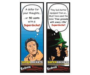 Superdockets Fridge Magnet