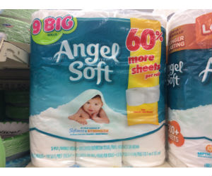 Angel Soft Bath Tissue at Walgreens